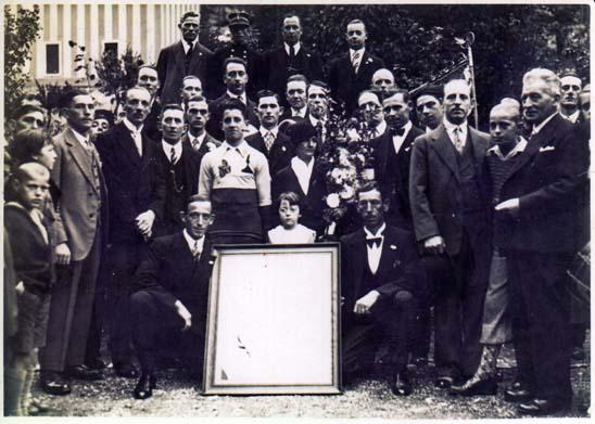 Club cycliste surdents stembert 02 1931