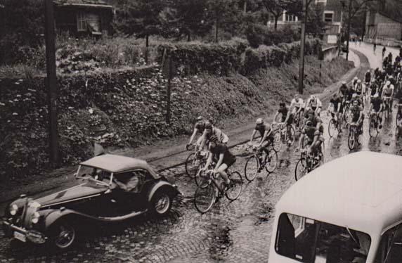 Cyclisme 05 course avec henri demoulin