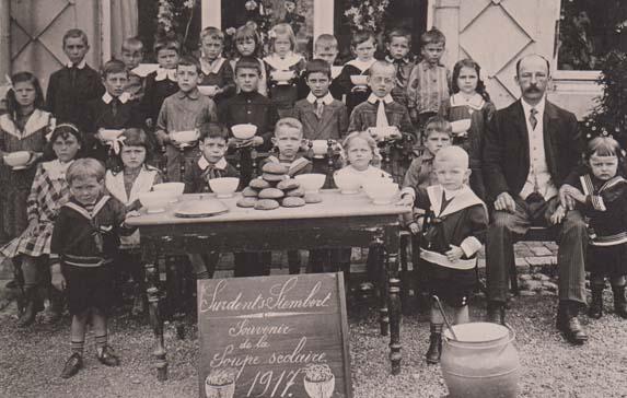 Ecole communale 10 1917