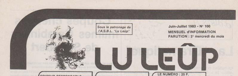 Journal 15 juin juillet 1983 entete