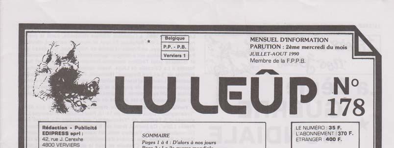 Journal 23 juillet aout 1990 entete