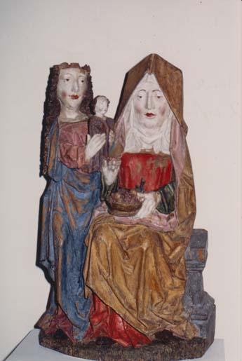 La chantoire la statue sainte anne 01 la vierge et l enfant