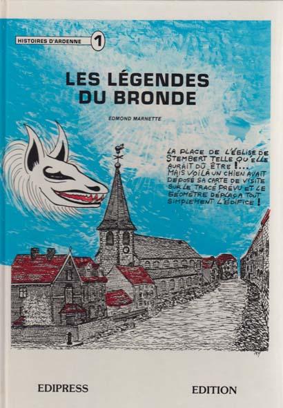 Livre stembert legende du bronde 01