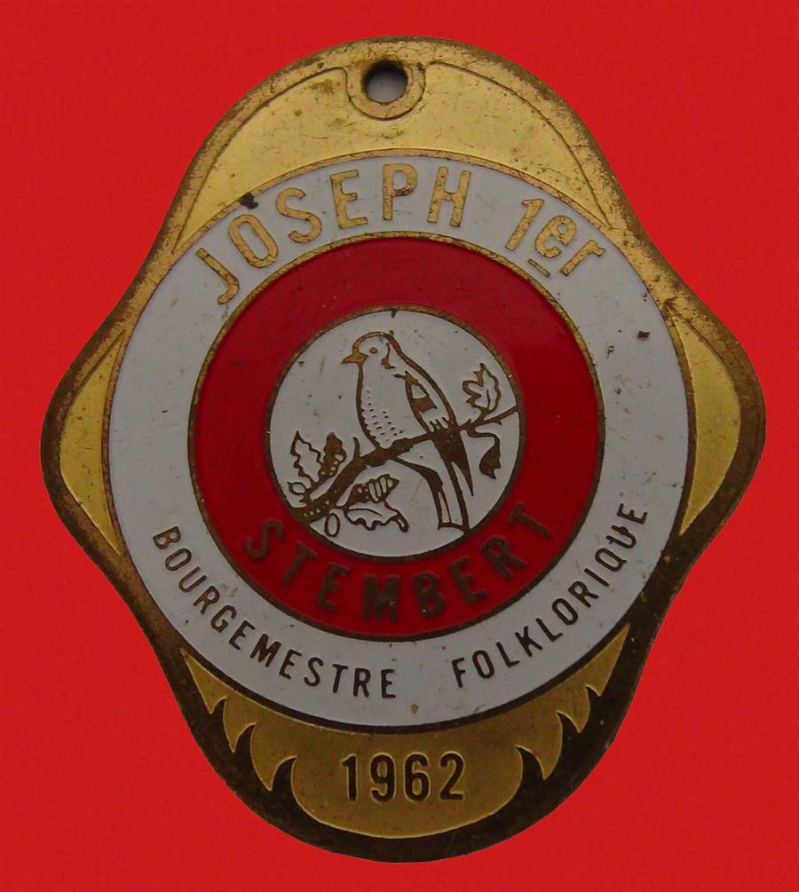 Medaille bourgmestre 01