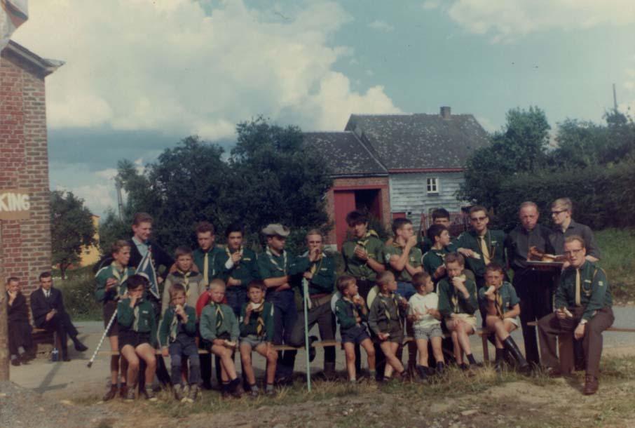 Patro saint dominique savio camp de grand han 1965 02