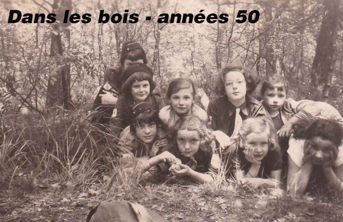 Patro st nicolas 02 annee 50 dans les bois