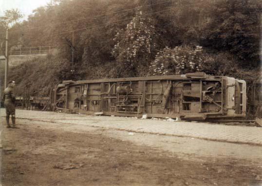 Tram 02 accident 15 juin 1933 15h30 7 morts